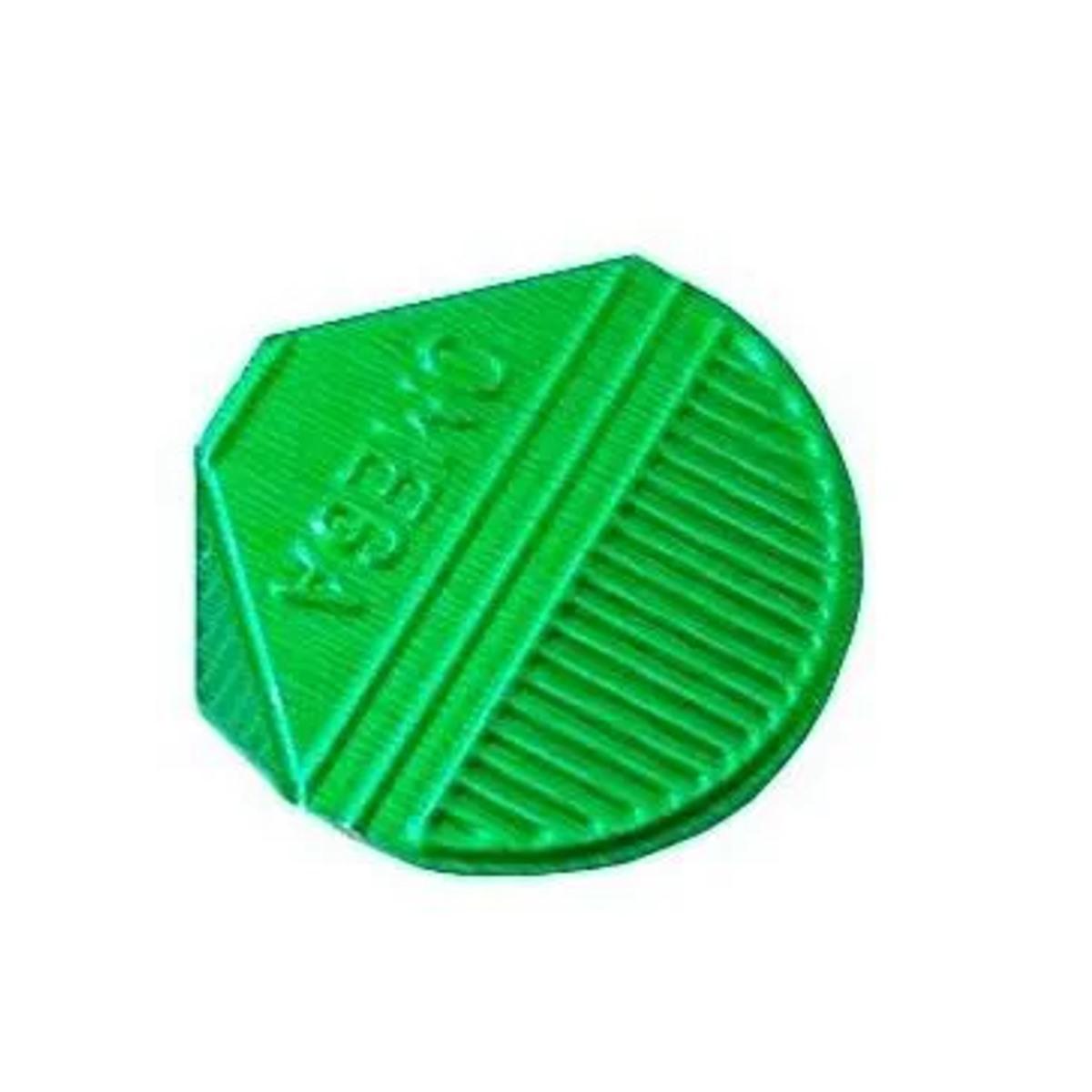 Prendedor de  Papel Presclip Omega - Caixa 1000 Unds Verde