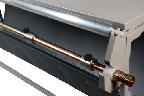 Refiladora Duplo Eixo com Desbobinadora e Mesa Tam 760mm