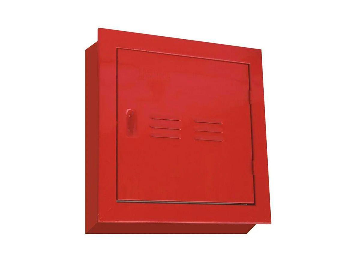 Abrigo de Hidrante para Registro Recalque Sobrepor 40x40x20cm  - Panela de Ferro Fundido