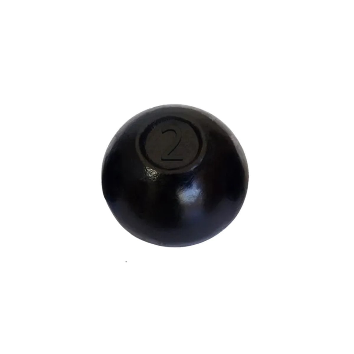 Bola de Arremesso Ferro Fundido Treinamento Funcional 2Kg