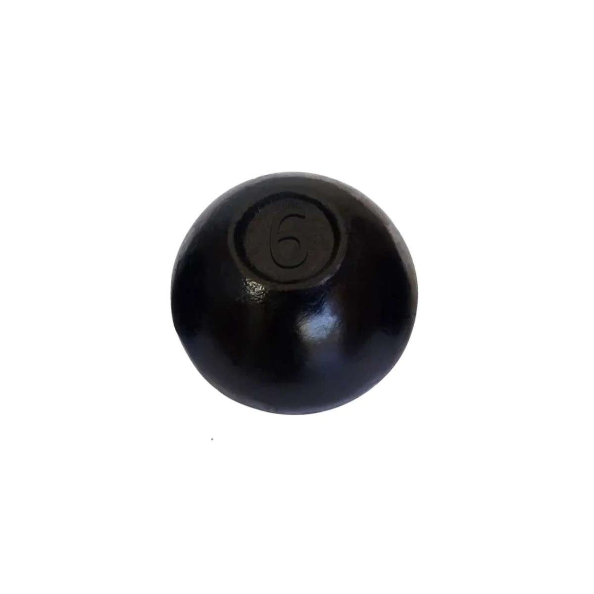 Bola de Arremesso Ferro Fundido Treinamento Funcional 6Kg  - Panela de Ferro Fundido
