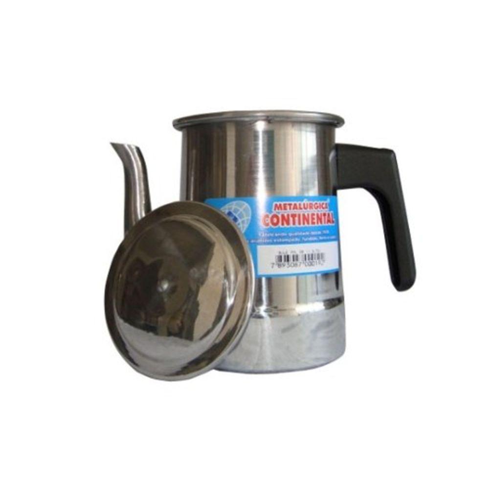 Bule de Alumínio Reforçado Continental (1,3 Litro)  - Panela de Ferro Fundido