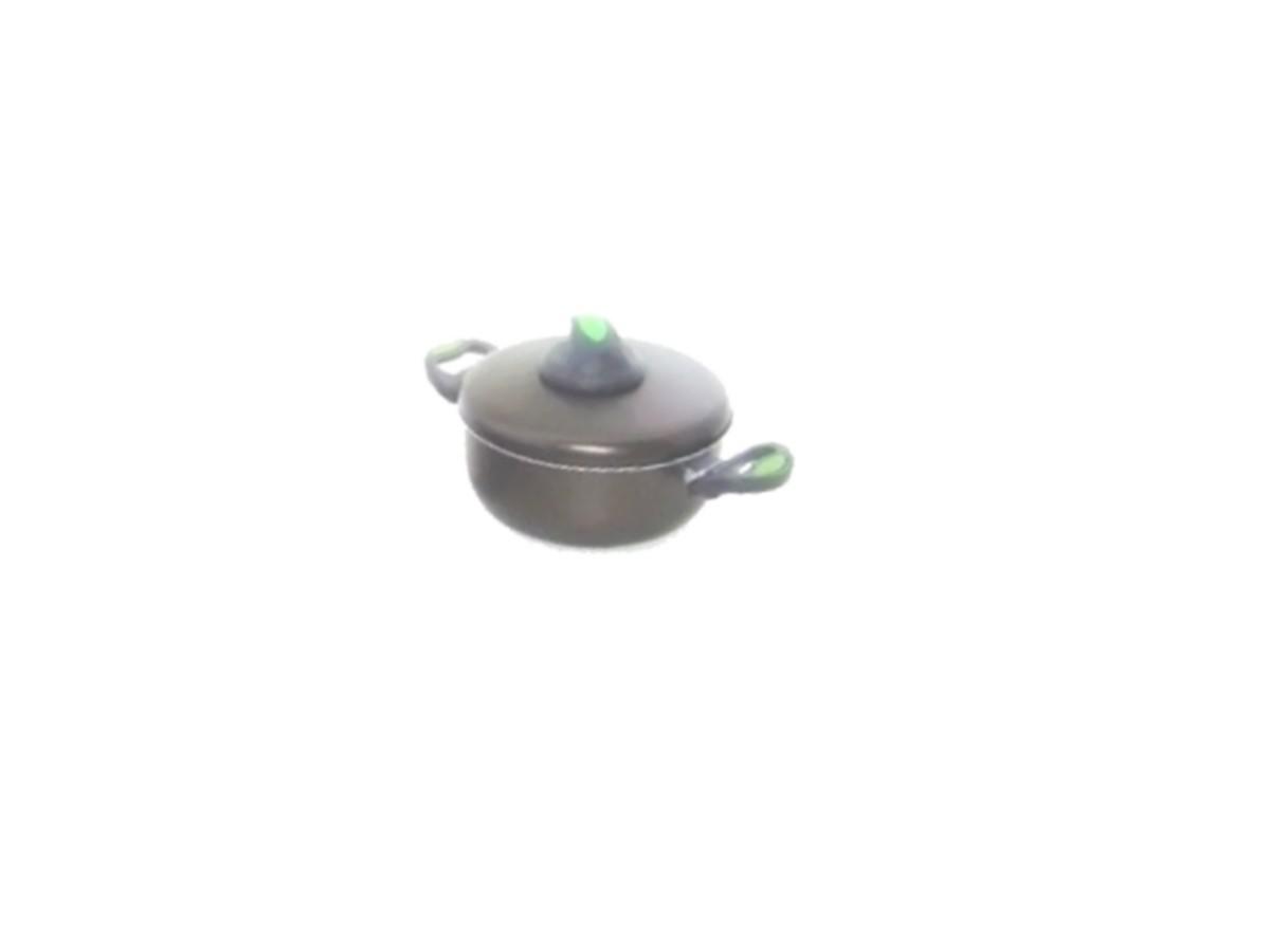 Caçarola de Alumínio Antiaderente Teflon 1,2 Litros C/ Alça  - Panela de Ferro Fundido