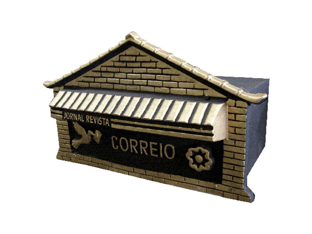 Caixa Correio Jornal/revista 38x20cm  - Panela de Ferro Fundido