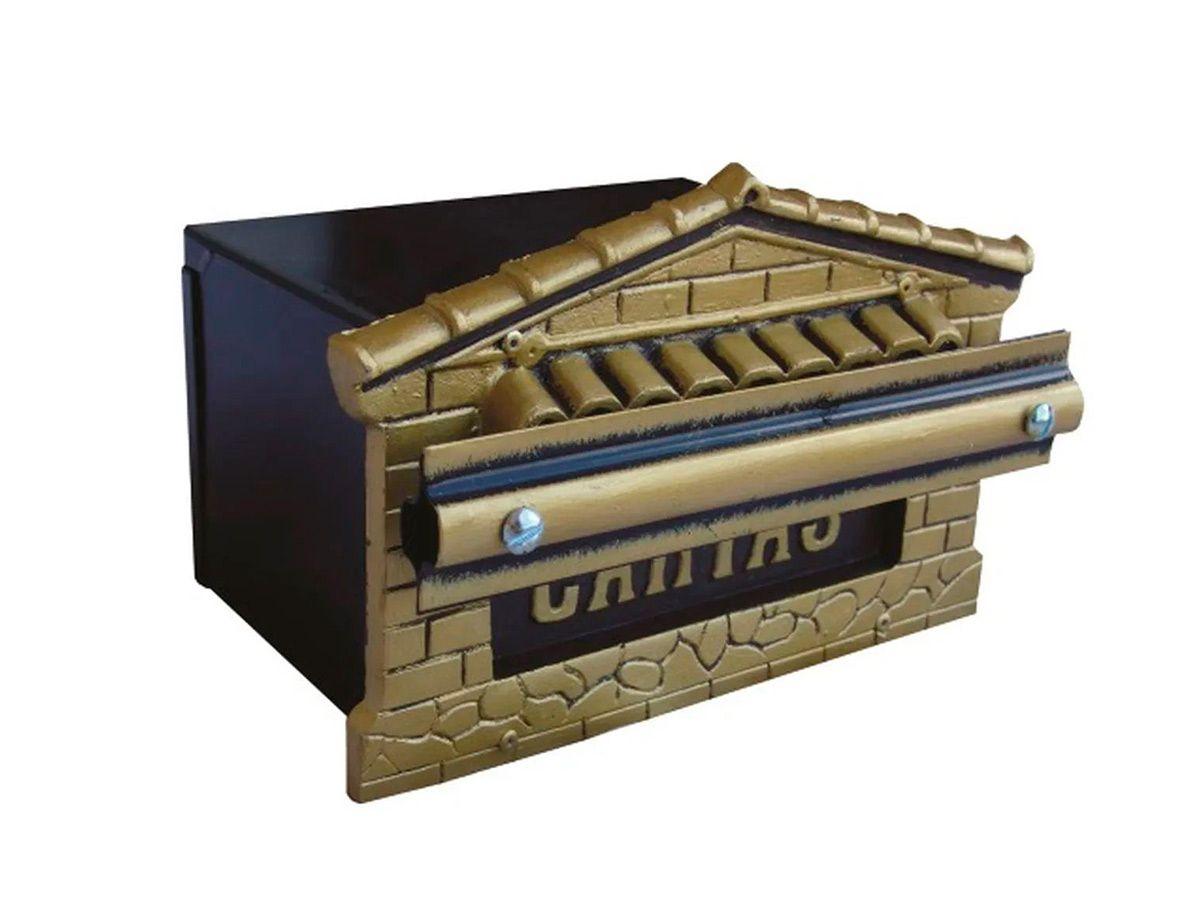 Caixa Correio Mini-tijolinho Polipropileno e Chapa 12x20cm  - Panela de Ferro Fundido