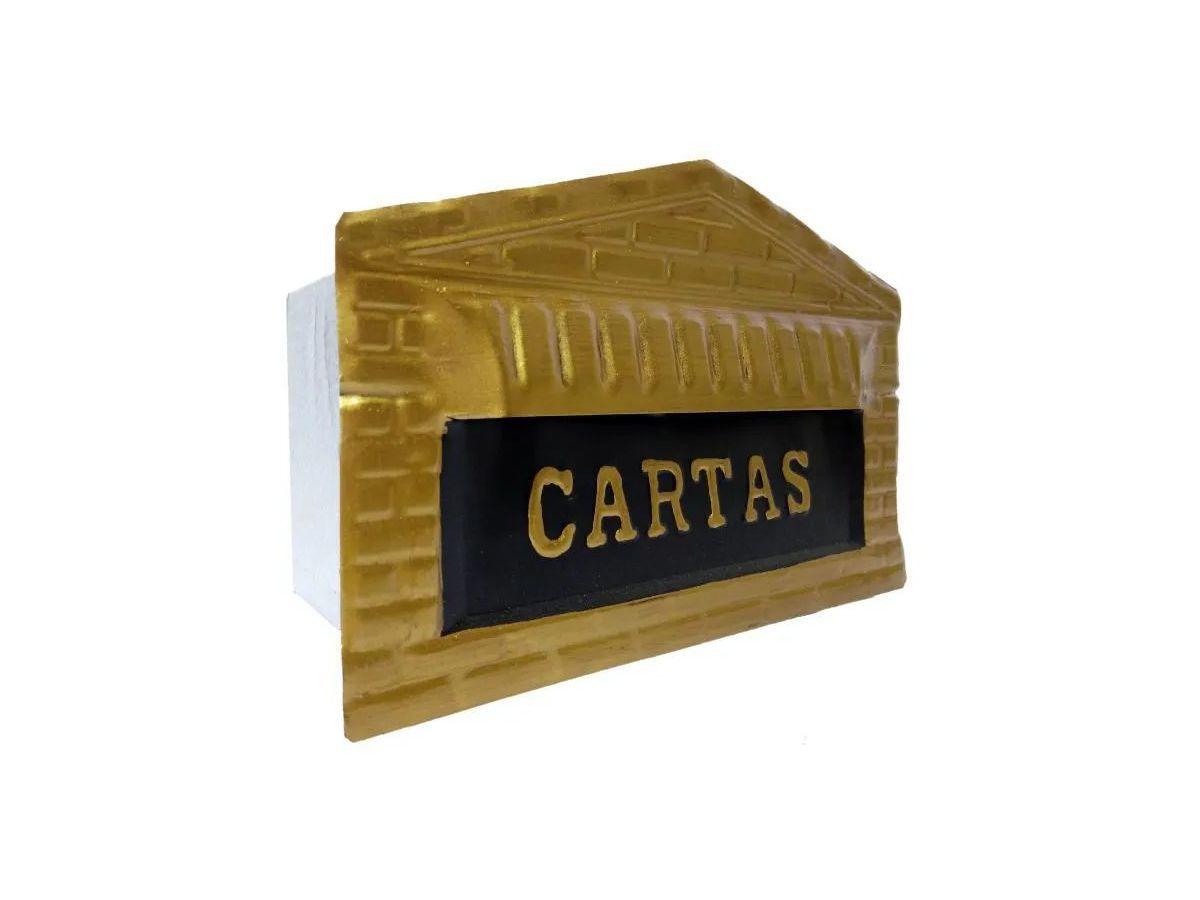 Caixa Correio Tijolinho Aço Carbono 20x25x12cm  - Panela de Ferro Fundido