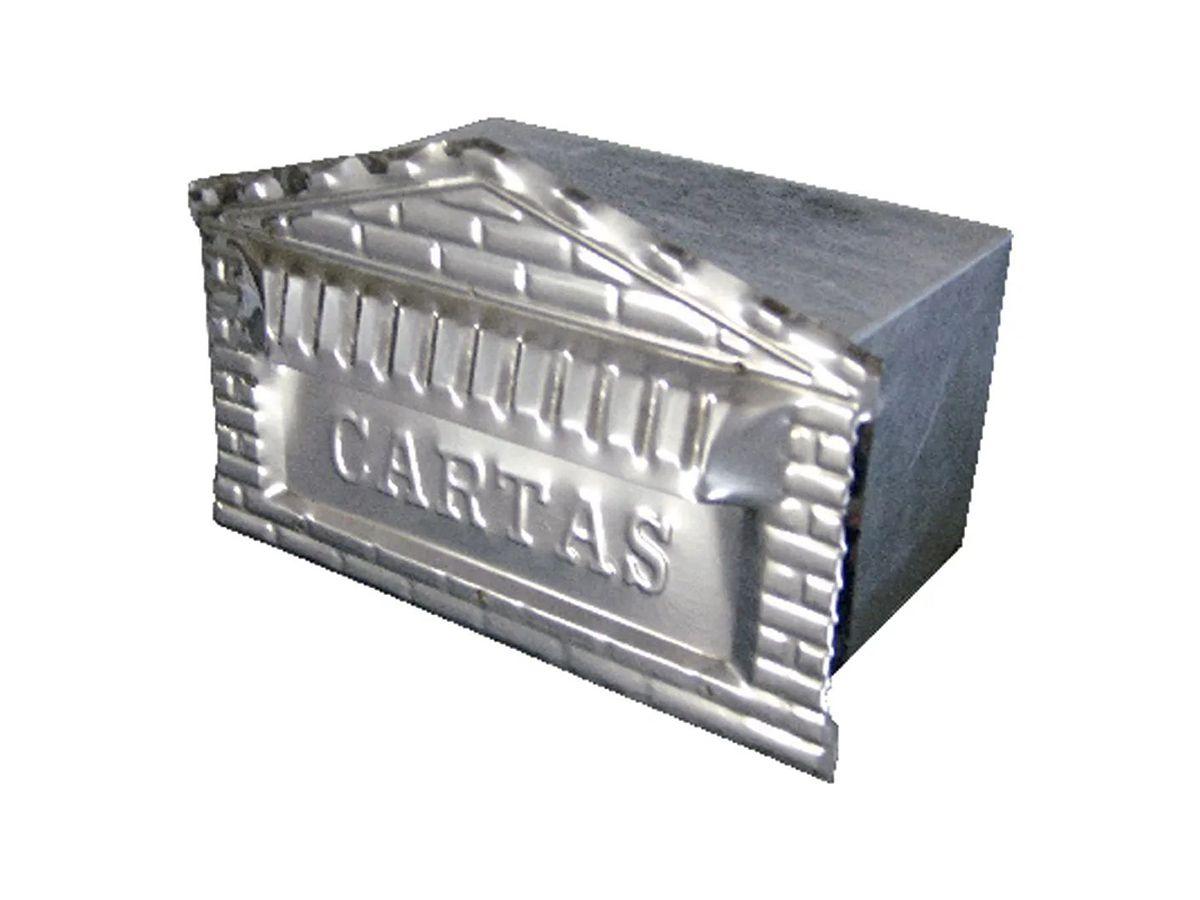Caixa Correio Tijolinho Galvinox 12x25x12cm  - Panela de Ferro Fundido