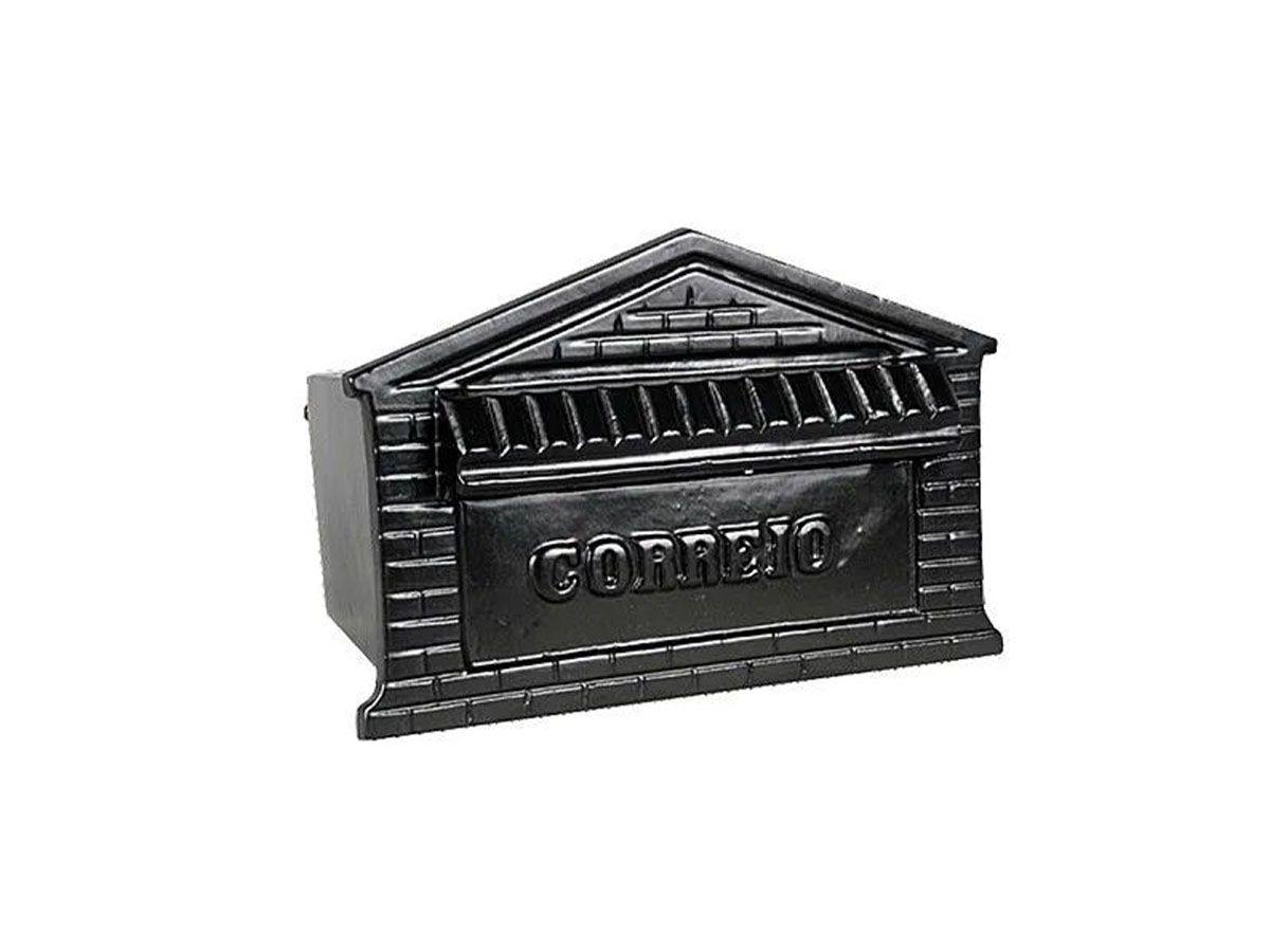 Caixa de Correio Colonial Casinha em Alumínio Fundido  - Panela de Ferro Fundido