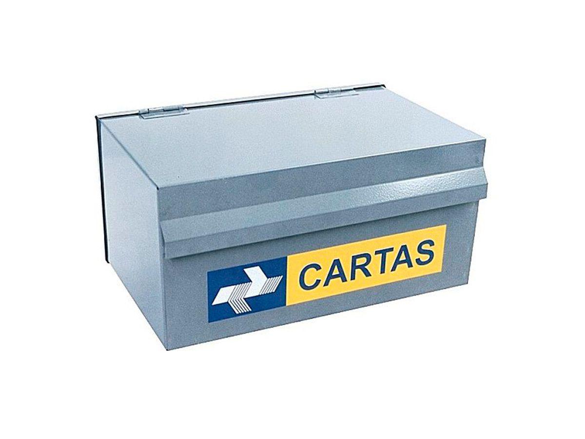 Caixa de Correio e Cartas Popular em Chapa de Aço 15x25cm  - Panela de Ferro Fundido