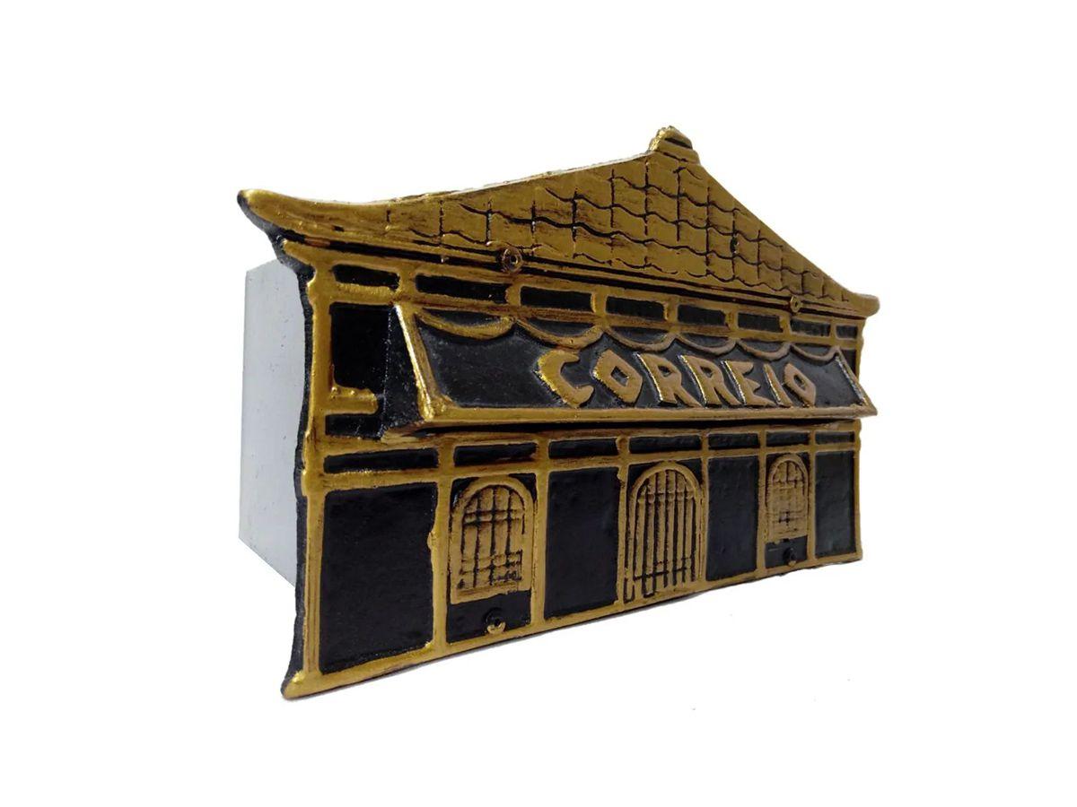 Caixa De Correio Frente Chinesa 15x25x12cm  - Panela de Ferro Fundido