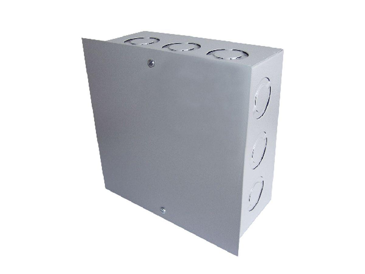 Caixa De Passagem Ligação Embutir Quadrada 10x10x8cm  - Panela de Ferro Fundido