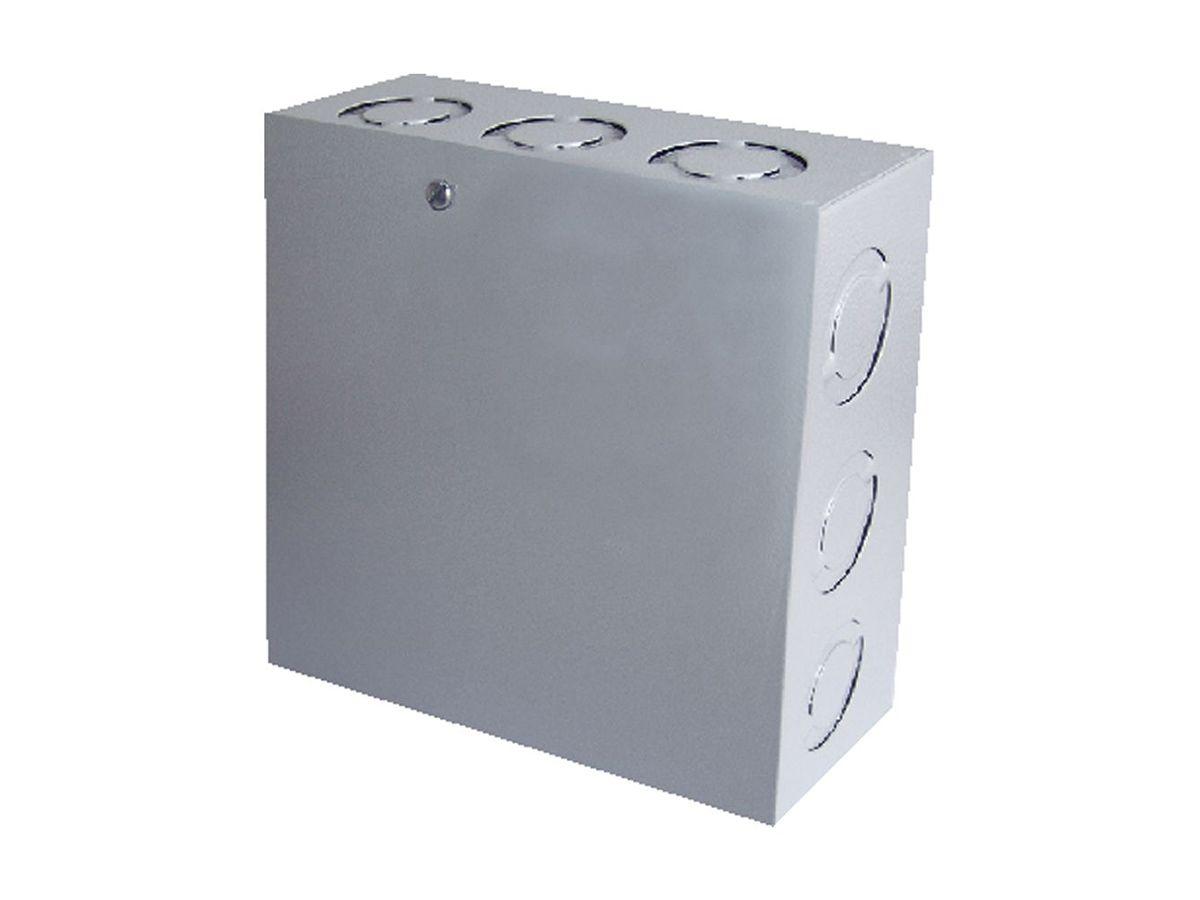 Caixa De Passagem Ligação Sobrepor Quadrada 10x10x8cm  - Panela de Ferro Fundido