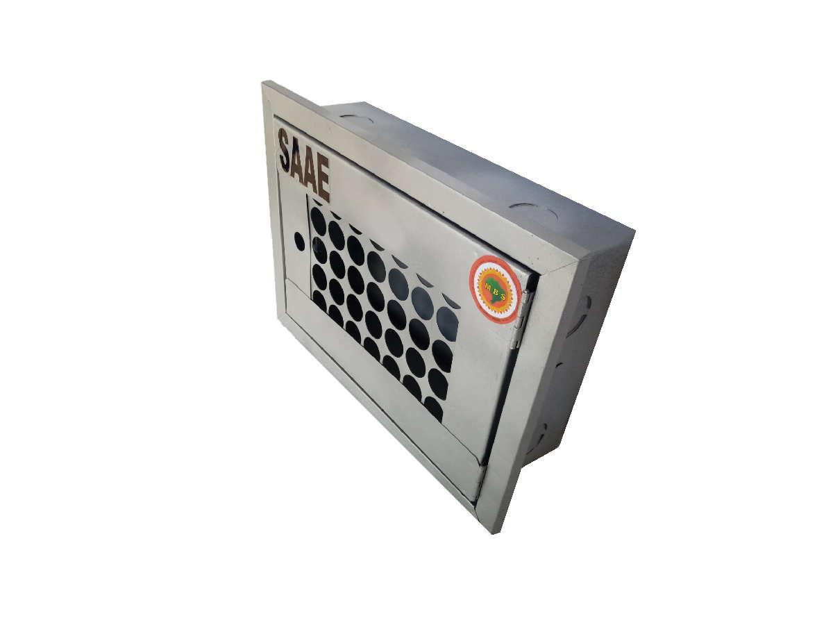 Caixa Proteção Com Porta Aberta Saae 38x27x12cm
