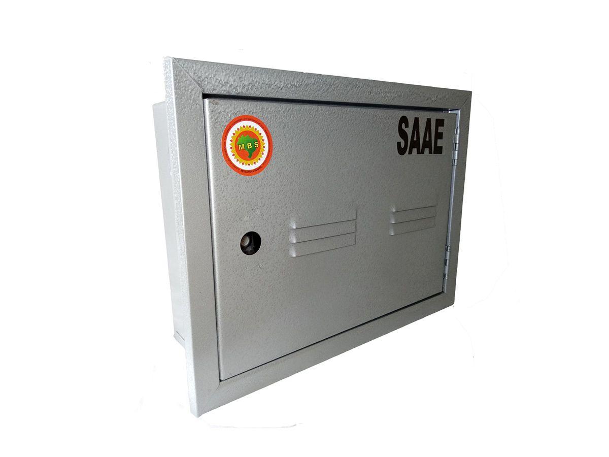 Caixa Proteção Com Porta Fechada Saee 38x27x12cm  - Panela de Ferro Fundido