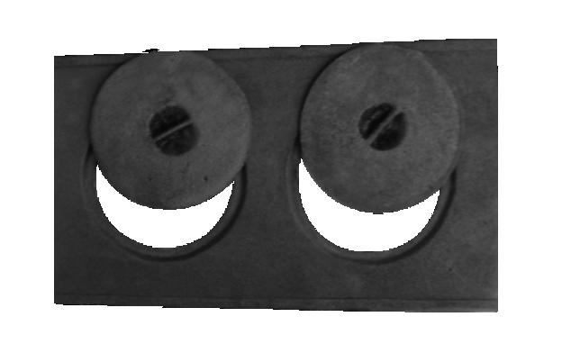 Chapa Mineira Fogão Lenha 2 Furos Com Tampa 25x45x28cm  - Panela de Ferro Fundido