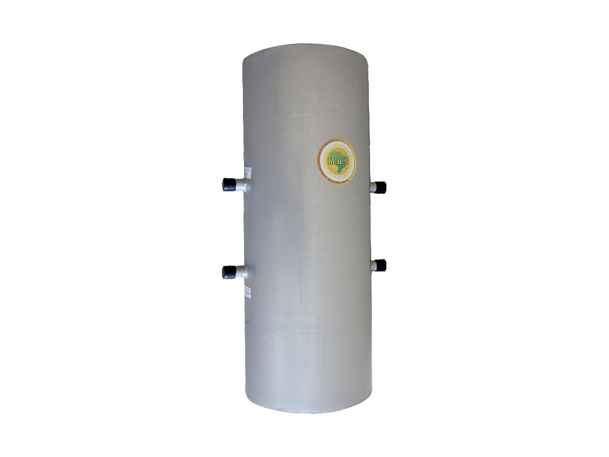 Cilindro Para Serpentina Aço Galvanizado 3/4  40lts 60x32cm