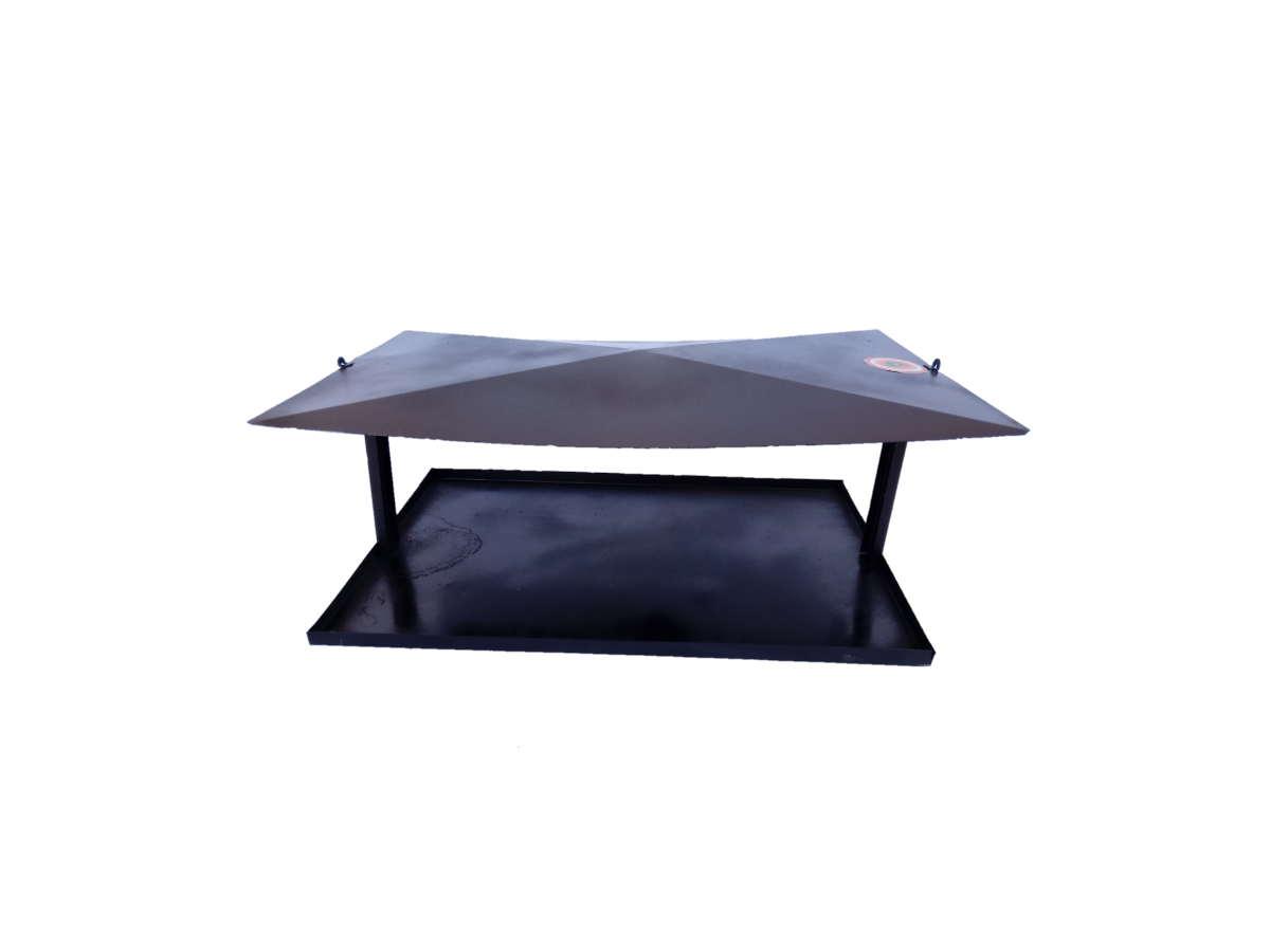 Comedouro Ecológico Para Passaros E Aves 47x30cm  - Panela de Ferro Fundido