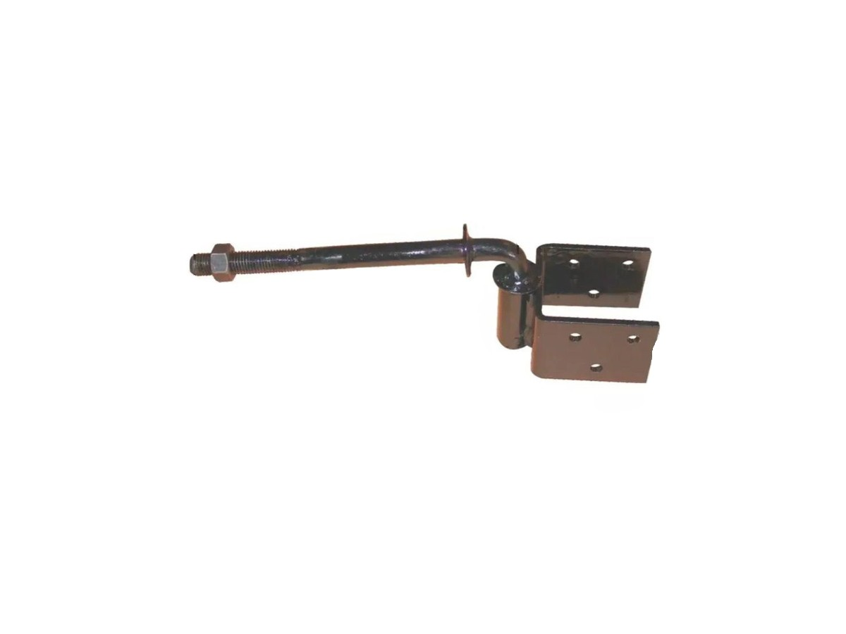 Dobradiça Aço Boca de Lobo (par) 1/4 280x115x80mm  - Panela de Ferro Fundido