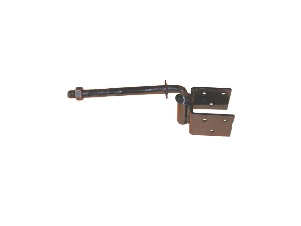 Dobradiça Aço Boca de Lobo (par) 3/16 280x115x65mm  - Panela de Ferro Fundido