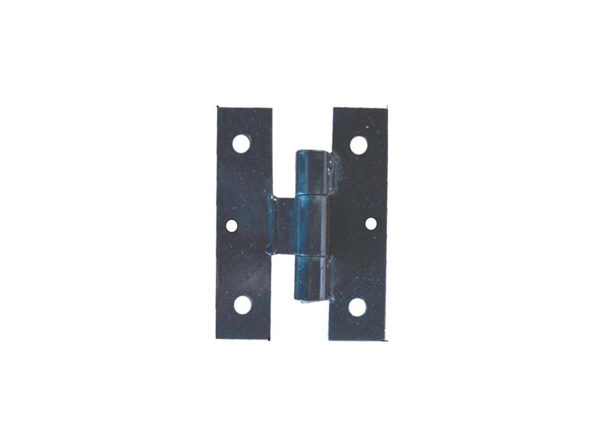 Dobradiça Aço (par) Tipo H 3/16 160x200x50mm N 02  - Panela de Ferro Fundido