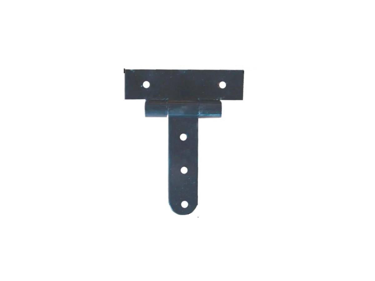 Dobradiça Aço (par) Tipo T 1/4 250x200x50mm N 01  - Panela de Ferro Fundido
