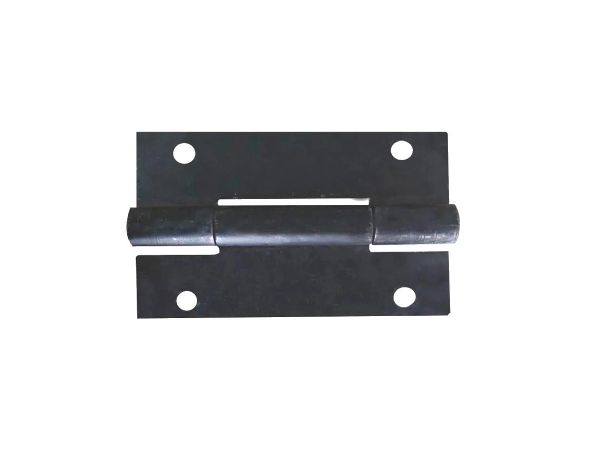 Dobradiça Aço Pesada Quadrada (par) 250x220mm  - Panela de Ferro Fundido