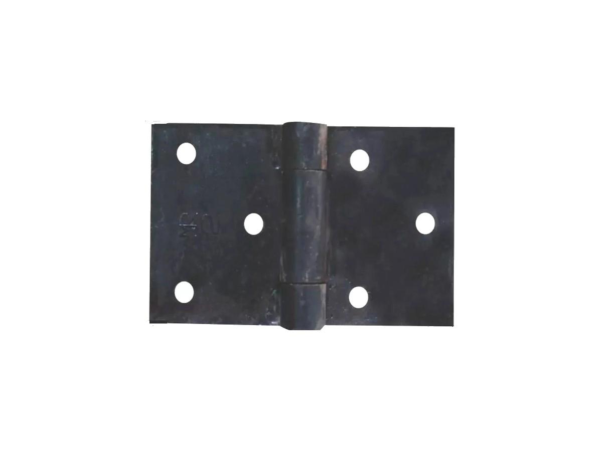 Dobradiça Aço Quadrada (par) 150x75mm N 01  - Panela de Ferro Fundido