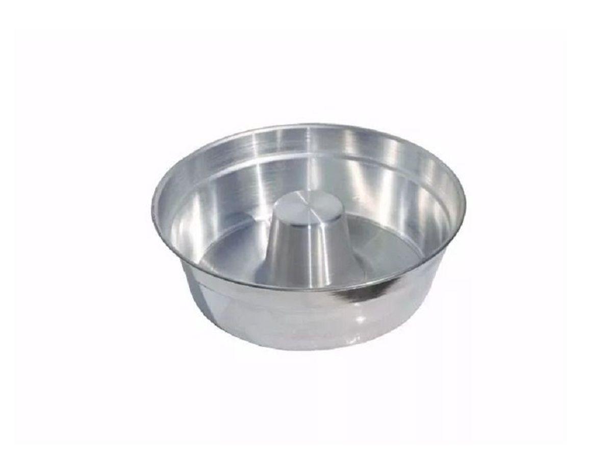 Forma Bolo para  Padaria com Cone Continental Nº3 (20x18x8cm)  - Panela de Ferro Fundido
