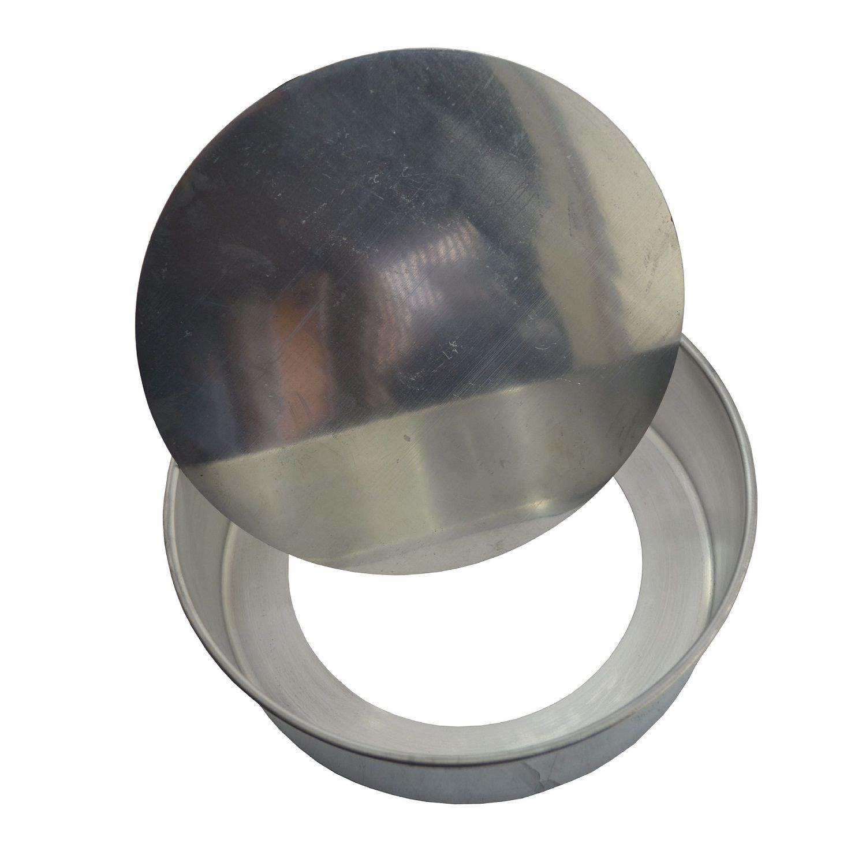 Forma de Bolo Assadeira Baixa Fundo Falso em Alumínio 30cm  - Panela de Ferro Fundido