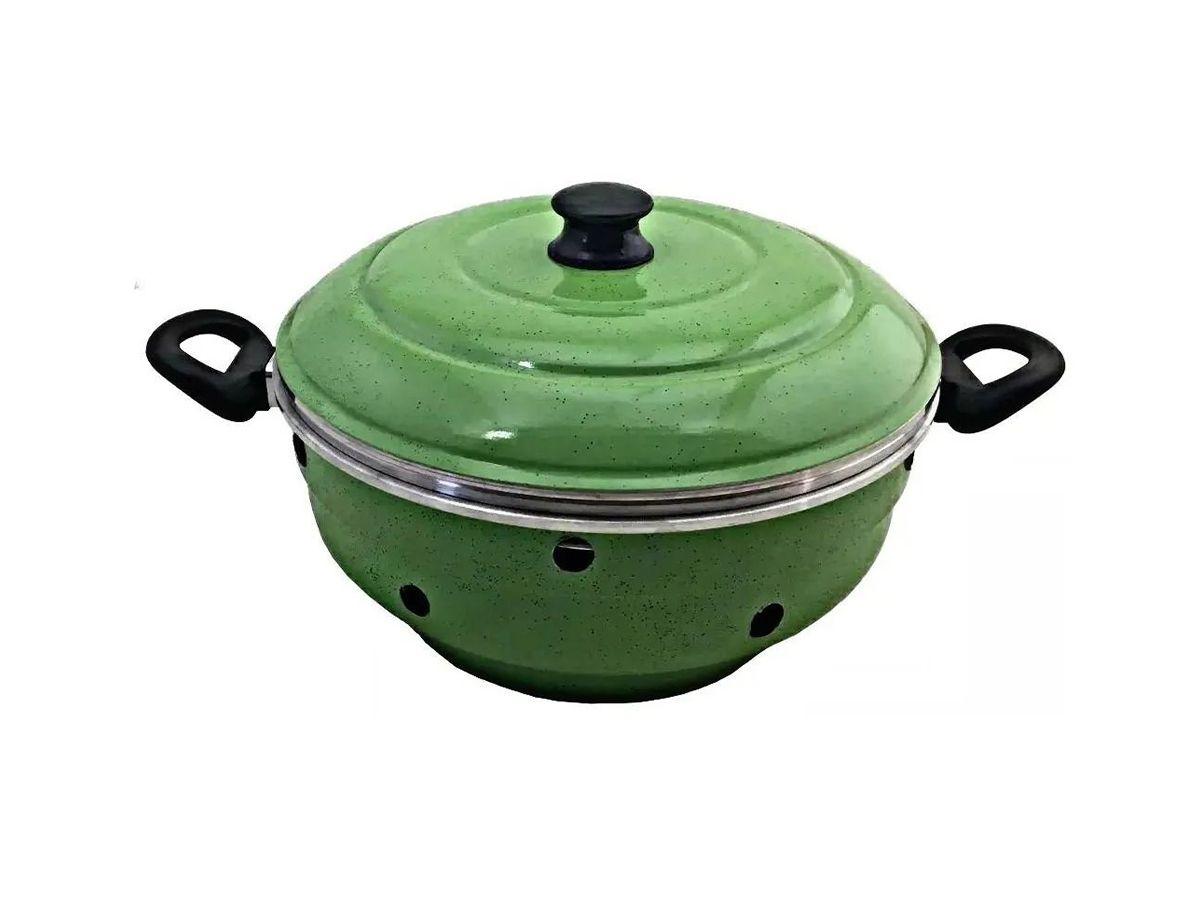 Forma de Bolo Vigorosa 5 em 1 Multiuso Verde