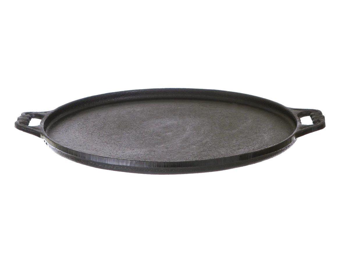 Forma Pizza Ferro Fundido Santana Grande 34 Cm  - Panela de Ferro Fundido