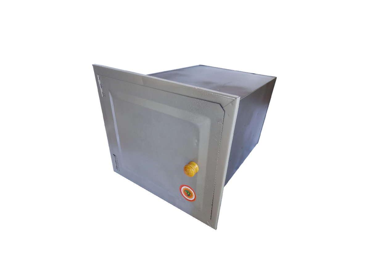 Forno De Chapa Galvanizada N°02 Sem Cinzeiro 50x30x25cm  - Panela de Ferro Fundido