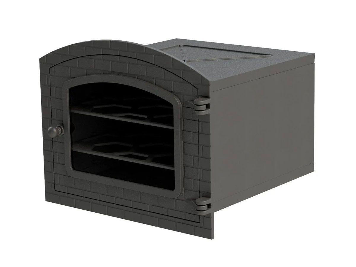 Forno De Ferro Com Vidro Libaneza - Colonial 51x45,5x30,5 Cm