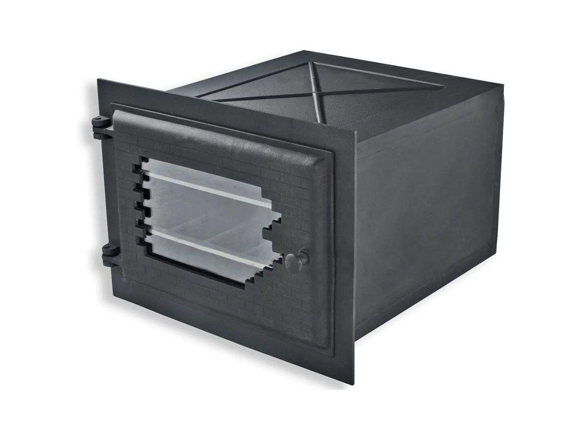 Forno de Ferro com Vidro Libaneza - Império 51x45,5x30,5 Cm