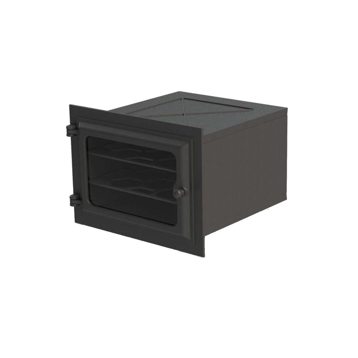 Forno de Ferro com Vidro - Modelo Libaneza 51x45,5x30,5 Cm  - Panela de Ferro Fundido
