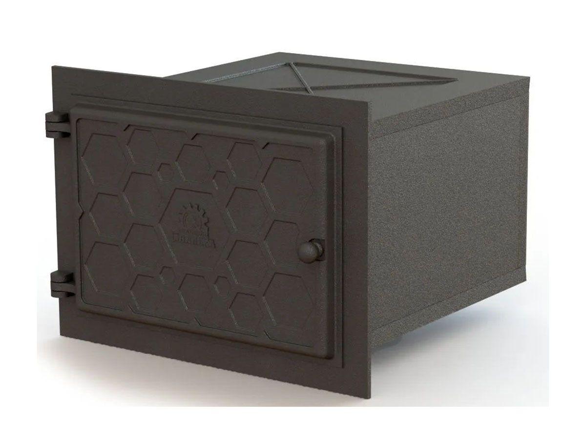 Forno Ferro Fundido Libaneza Modelo Colmeia 51x45,5x30,5 Cm  - Panela de Ferro Fundido