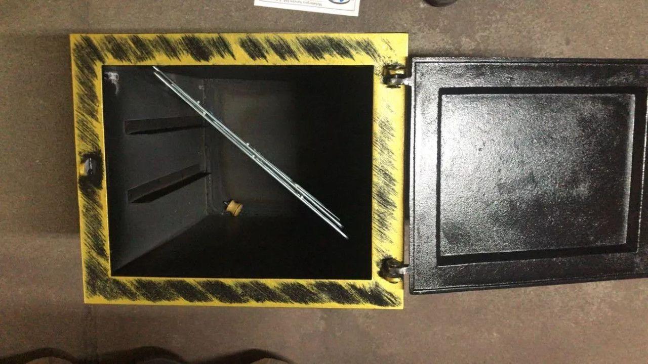 Forno Pesado para Fogão A Lenha Ouro N06 2mm 50x35x30cm  - Panela de Ferro Fundido