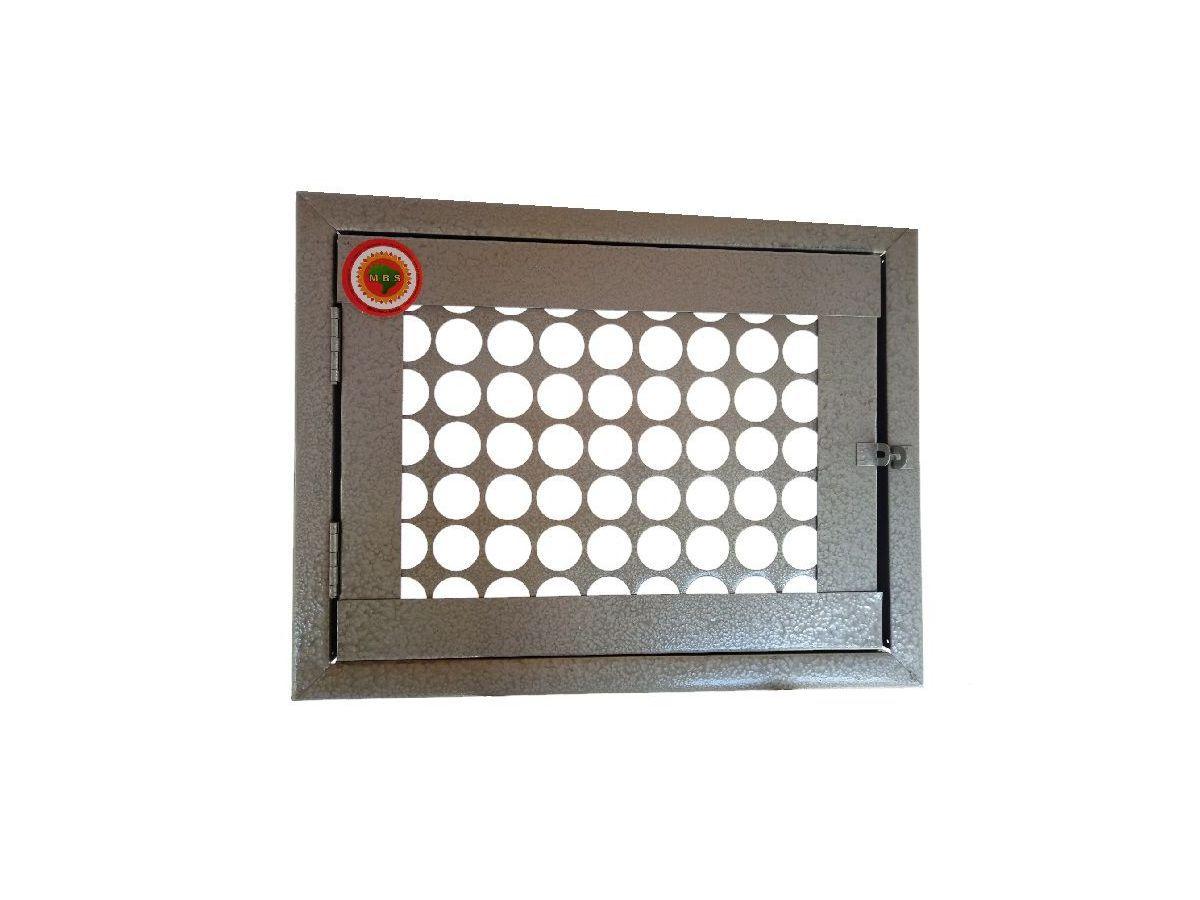 Frente Hidrômetro Tela Moeda Com Porta Cadeado 50x40cm  - Panela de Ferro Fundido