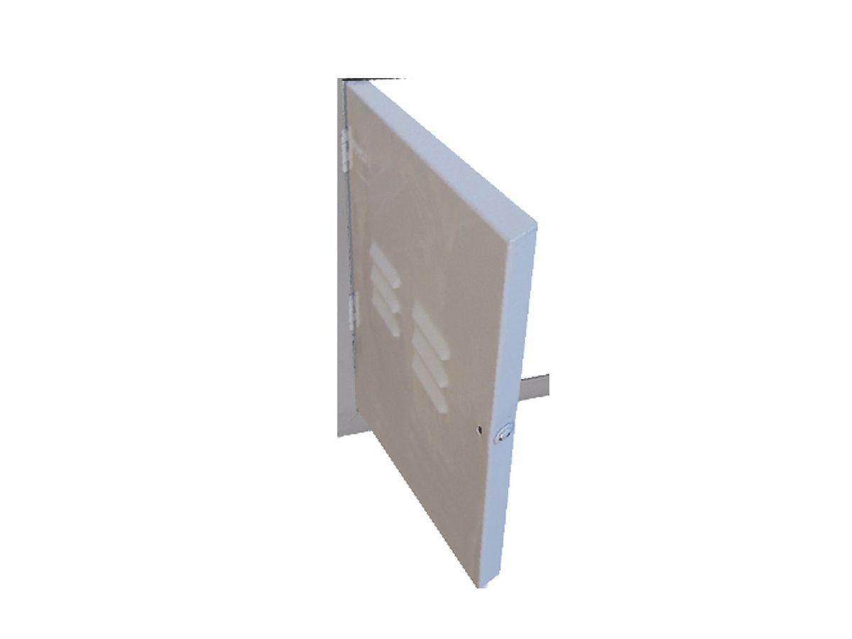 Frente Protetora Hidrômetro Fechada 50x60cm  - Panela de Ferro Fundido