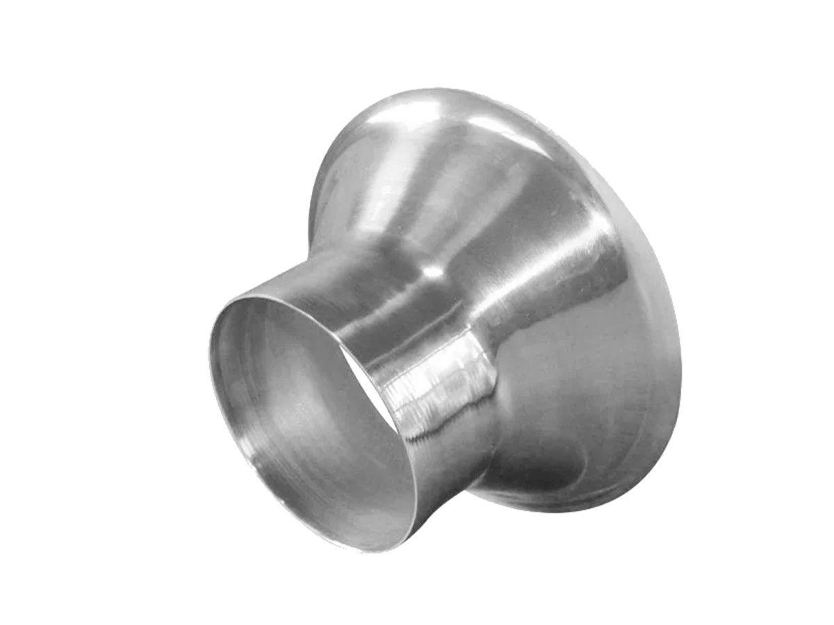 Funil para Ensacar Algodão Doce em Alumínio Tam 15
