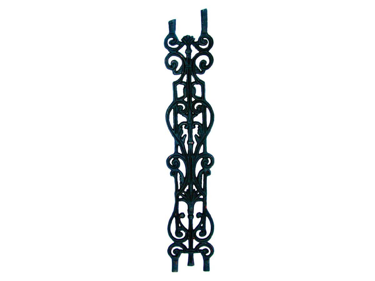 Grade Ferro Fundido Imperial 1 Grau Varanda Sacada 87x15,5cm