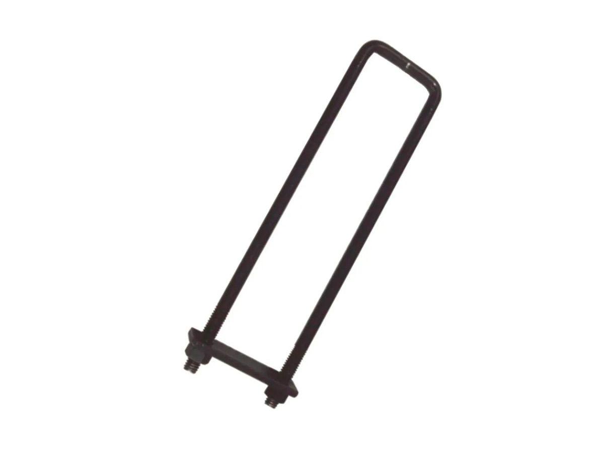 Grampo para Engradamento Aço Pintado 1/2  150x50mm  - Panela de Ferro Fundido