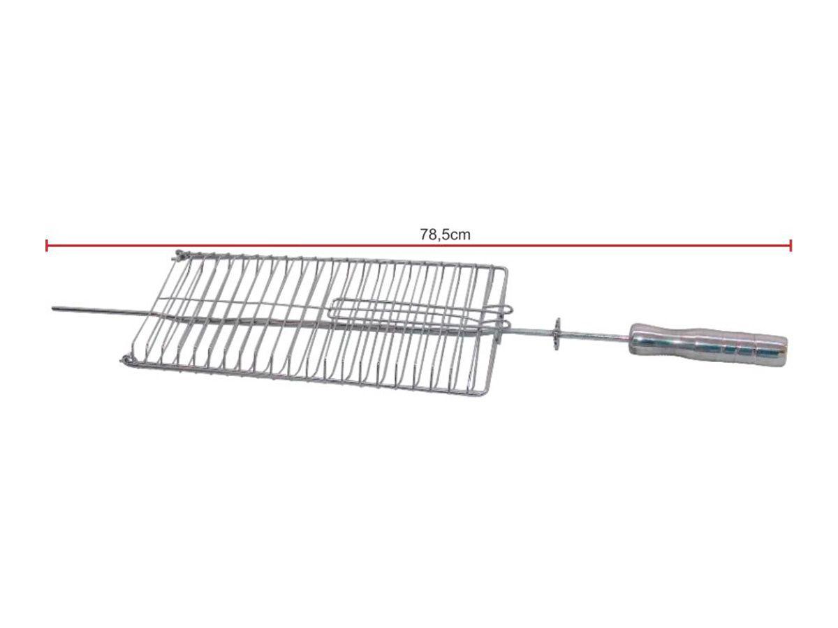 Grelha para Grill Elétrica em Aço Inox  - Panela de Ferro Fundido
