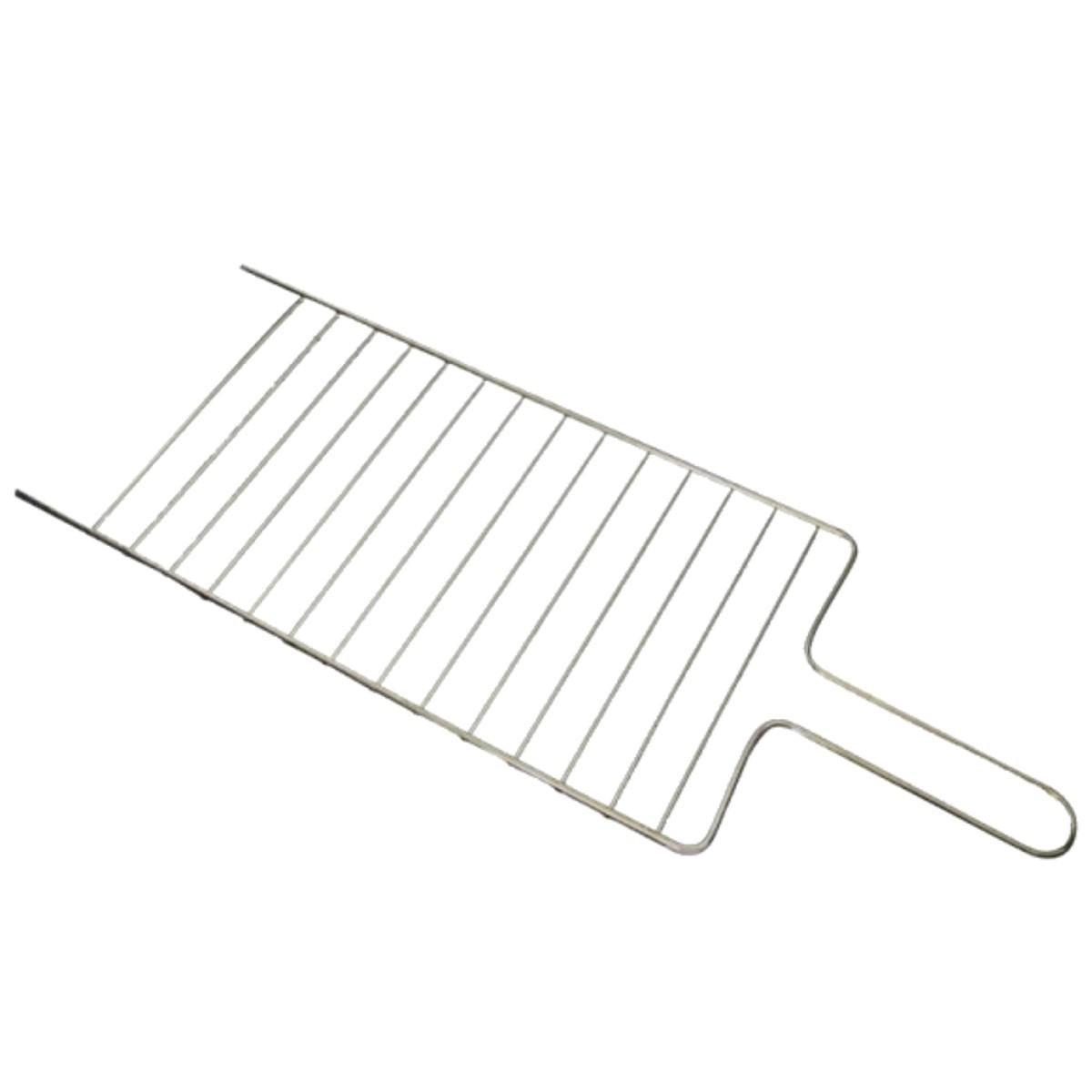 Grelha Parrilha Simples Para Churrasqueira 18x50 Cm  - Panela de Ferro Fundido