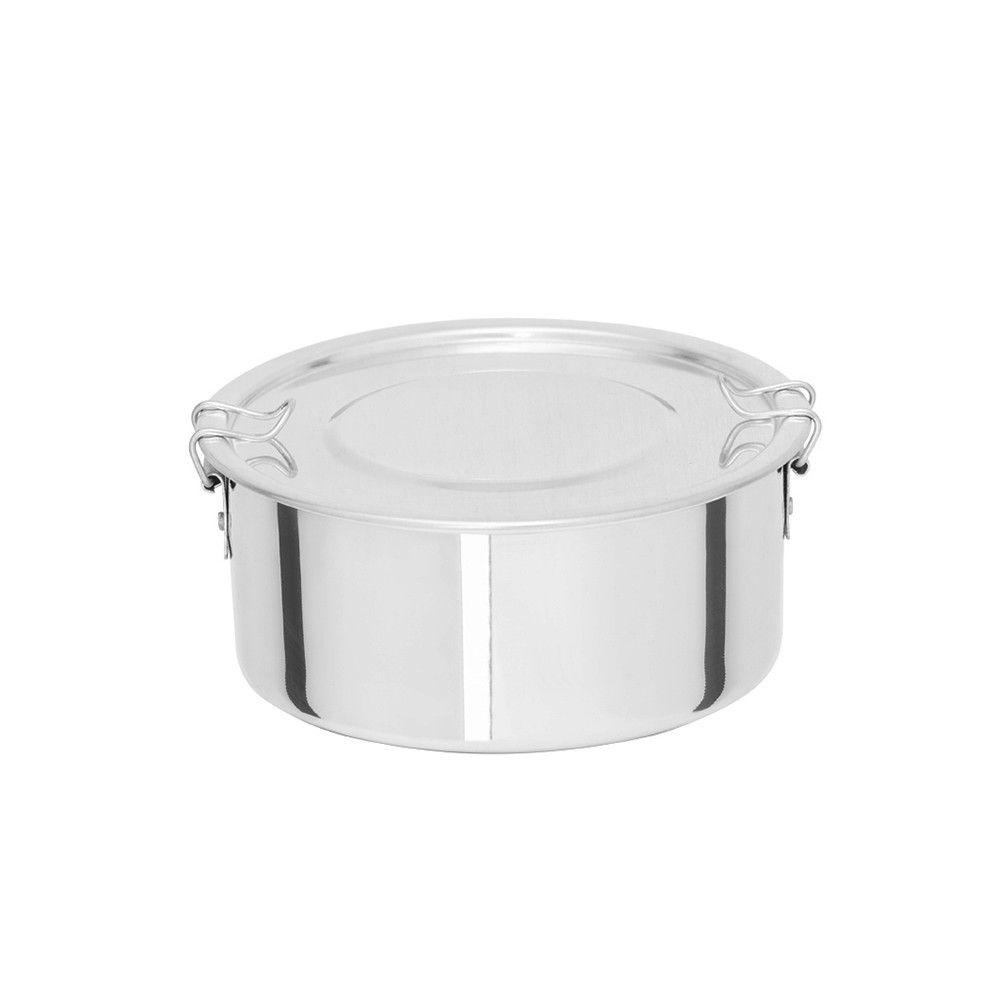 Kit de Marmita Redonda de Alimento 1,2 Litros (06 Unid)