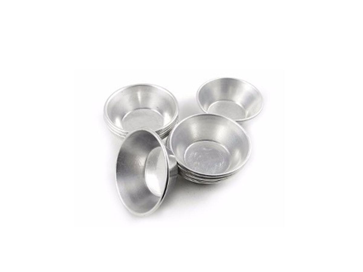 Kit Forminha Mini Empada Alumínio Nº 1 para Buffet (12 Unid)  - Panela de Ferro Fundido