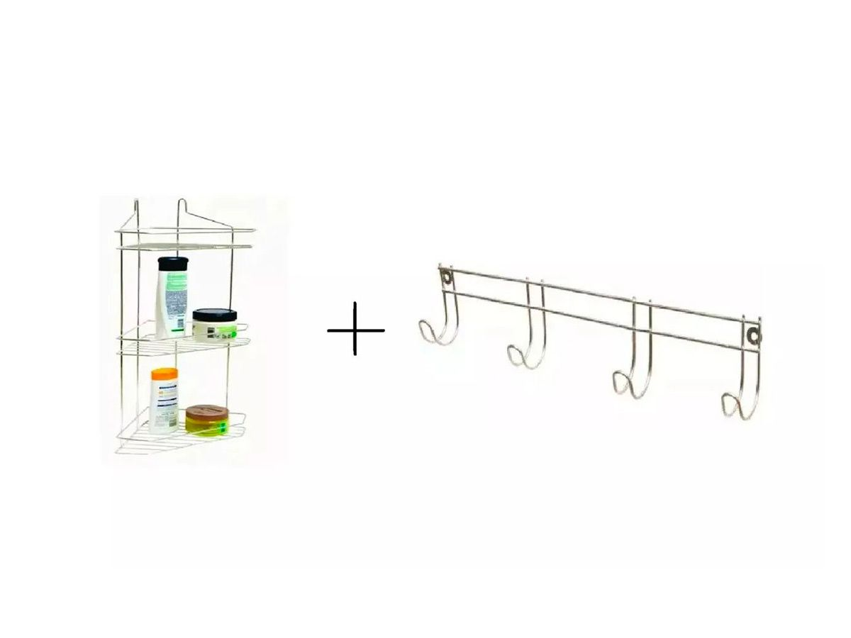 Kit Sup Shampoo Triplo + Sup Toalha para Banheiro  - Panela de Ferro Fundido