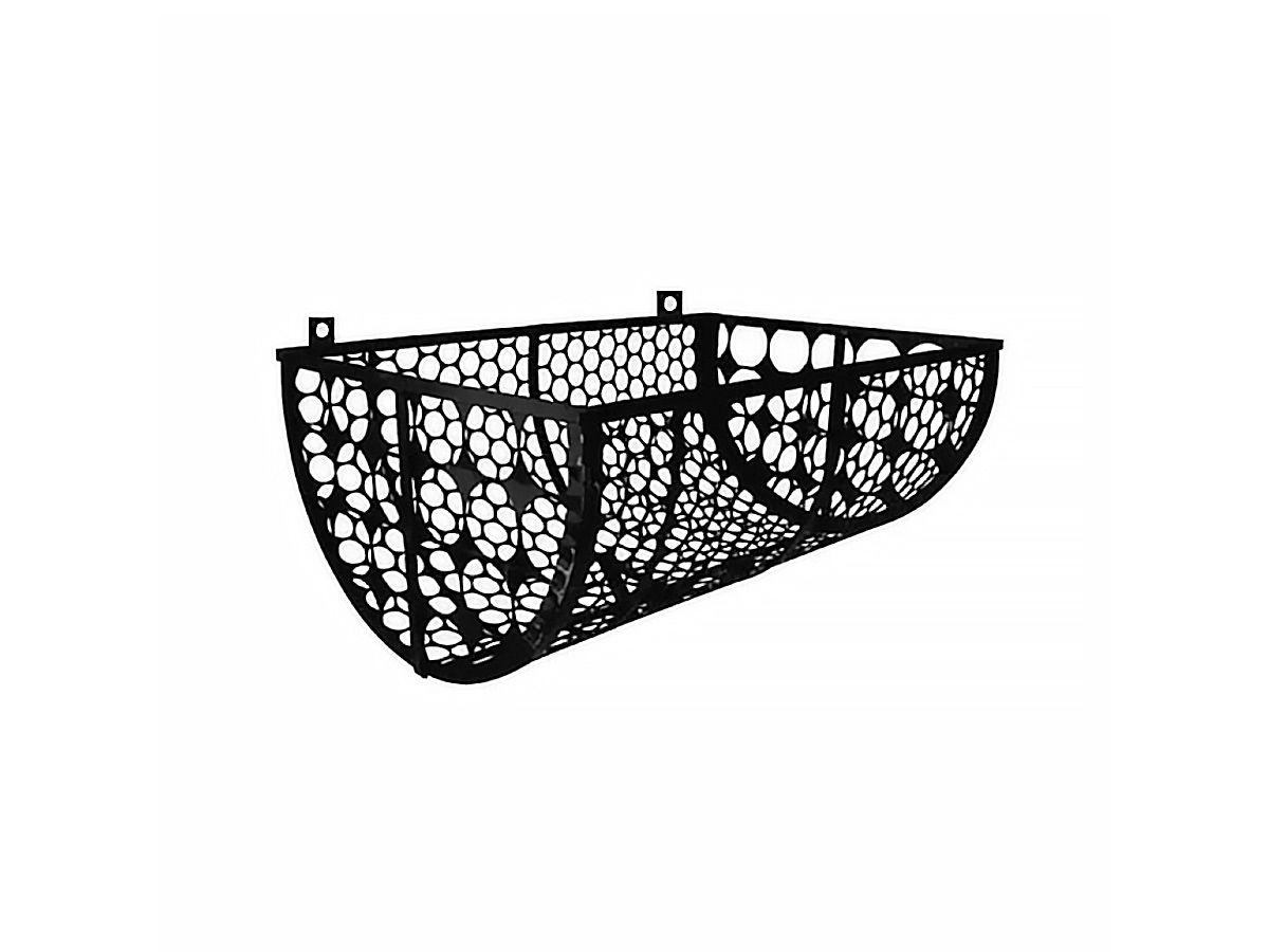 Lixeira de Rua Modelo Tela Moeda de 60cm de Parede  - Panela de Ferro Fundido