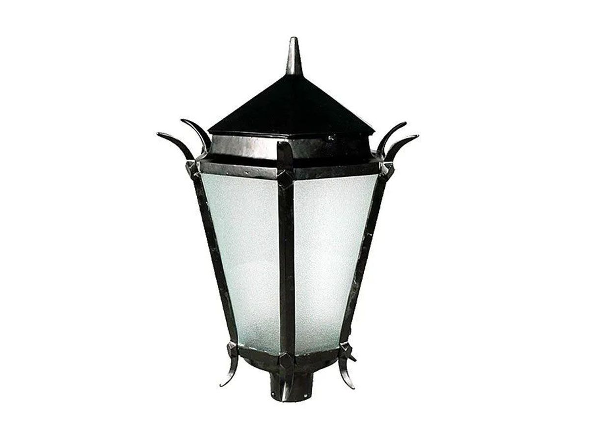 Luminária Colonial para Poste Francesa Grande em Alumínio