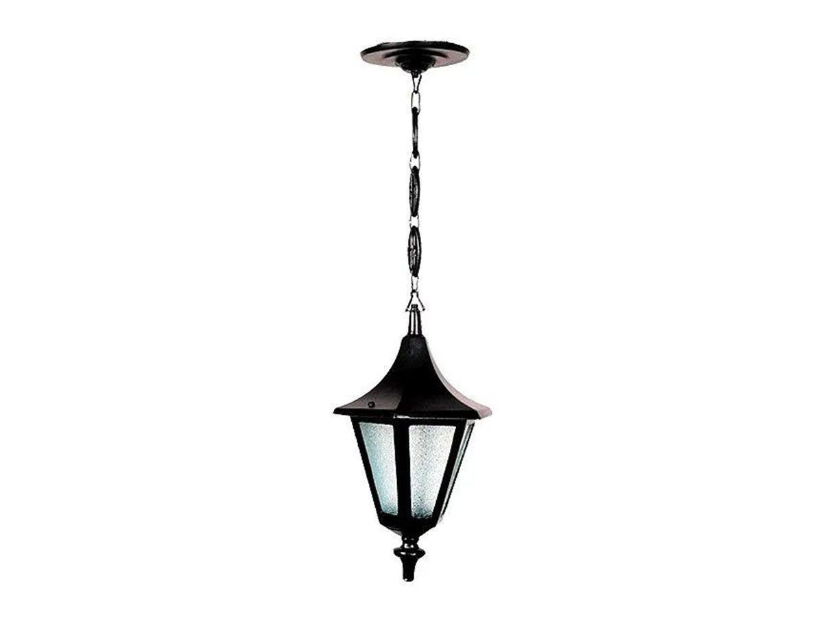 Luminária Externa Interna Verona Mini com Corrente Alumínio  - Panela de Ferro Fundido